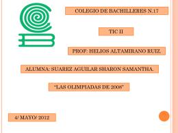 Diapositiva 1 - TicII