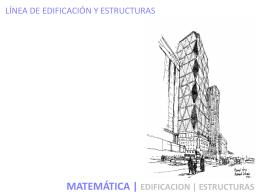 Matemáticas II - Escuela de Arquitectura