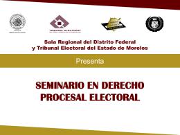 Presentación1 - Tribunal Estatal Electoral