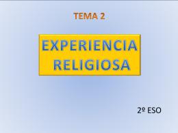 1.¿Qué es la religión? 2.¿Qué aspectos contiene?