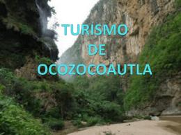 TURISMO DE OCOZOCOAUTLA