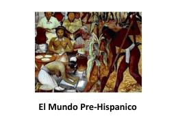 El Mundo Pre-Hispanico