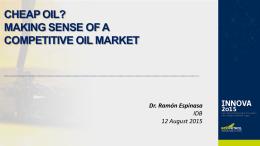Presentacción - Inteligencia Petrolera