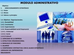 MODULO DE MERCADEO.