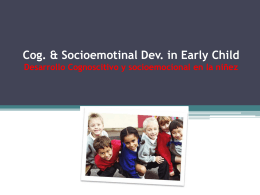 Spg 15 Cog_Sociemo_early childhood