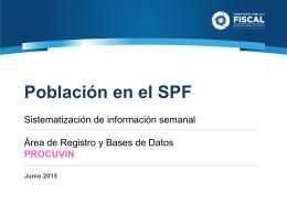 Presentación de PowerPoint - Ministerio Público Fiscal