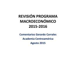 Presentación de PowerPoint - Academia de Centroamérica