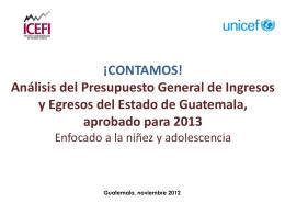 Diapositiva 1 - Municipio Aprobado Sello UNICEF