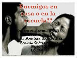 Martínez Guzmán Jennifer Ramírez Chávez Andrea