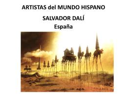 ARTISTAS del MUNDO HISPANO SALVADOR DALÍ España