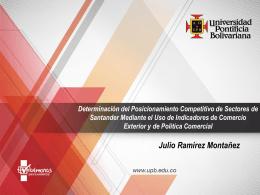 Dinámica Exportadora de Santander