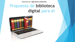Descarga - Concepto de biblioteca digital
