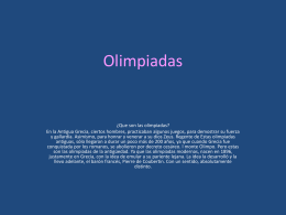 olimpiadas - Wikispaces