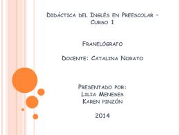 Lilia Meneses Karen pinzón 2014