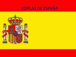 COPLAS DE ESPAÑA ines y elea