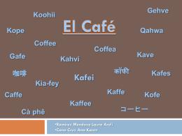 Café - drinkopedia