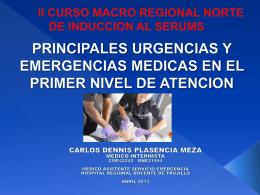 Dr. Carlos Dennis Plasencia Meza - CMP