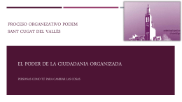 Organización Podem Sant Cugat 12111