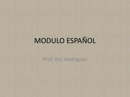 MODULO ESPAÑOL - Repaso de las PCMAS UMET