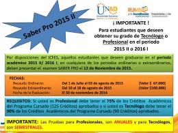 Saber Pro 2015 II (116578)