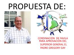 PROPUESTA - San Vicente de Paul