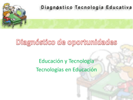 Diagnostico de oportunidades