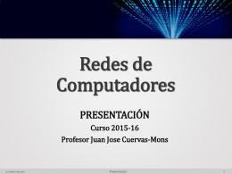 PRESENTACION_2015_16.v2.1 - Profesor Juan José Cuervas