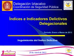 Delegación Iztacalco Coordinación de Seguridad Pública