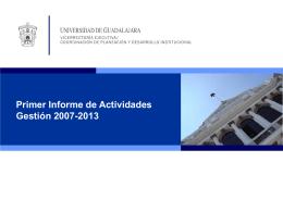 5.Informes de actividades.