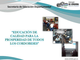 Secretaria de Educación Departamental