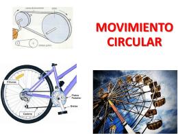 4.2 Movimiento Circular