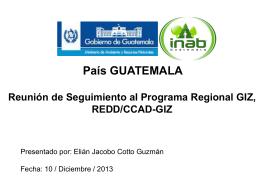 Bajar Archivo - Programa REDD/CCAD-GIZ