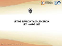 LEY DE INFANCIA (437400)