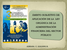 ADRIANA GOLDING-LAMINAS CONGRESO MARGARITA