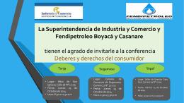 La Superintendencia de Industria y Comercio y
