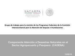 Presentación SAGARPA
