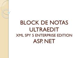 block de notas ultraedit xml asp. net - especialidad-pagina-web