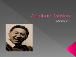 Abraham Maslow- marin (201353)