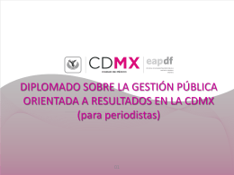Diapositiva 1 - Escuela de Administración Pública