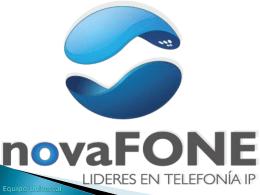 NOVAFONE PRESENTACION EQUIPO UNIVERSAL