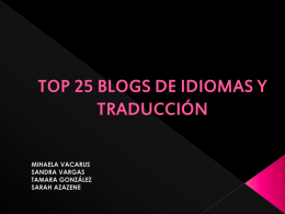 TOP 25 BLOGS FINAL