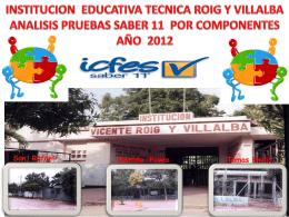 Diapositiva 1 - Institución Educativa Técnica Roig y Villalba