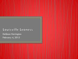 Louisville Leoness