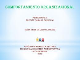 Presentación de PowerPoint - Universidad Manuela Beltrán
