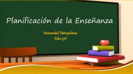evaluación - EDUC276-UMET