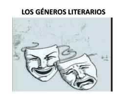 LOS GÉNEROS LITERARIOS - clases-sk