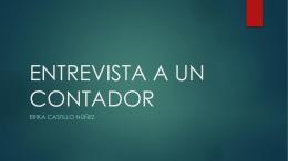 ecastillo_UNIDAD 2 entrevistaauncontador