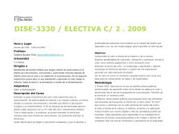 Descargar el programa 2009-2