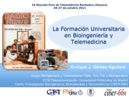 26-27 de octubre 2011 - Sociedad Española de Informática de la