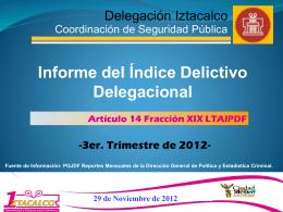 3 - Delegación Iztacalco